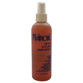 Amazon Com Nairobi Up Do Styling Hair Spray Unisex 8 Ounce Beauty