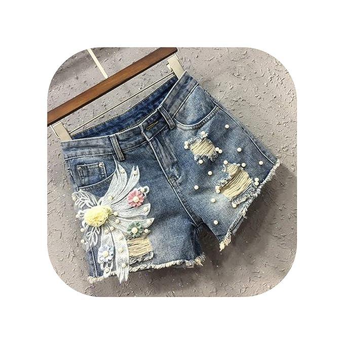 Amazon.com: Leifun Pantalones vaqueros vaqueros para mujer ...