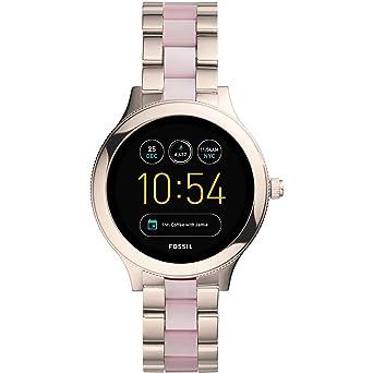 Fossil FTW6010 Montre Smartwatch pour femme Q Venture Casual-
