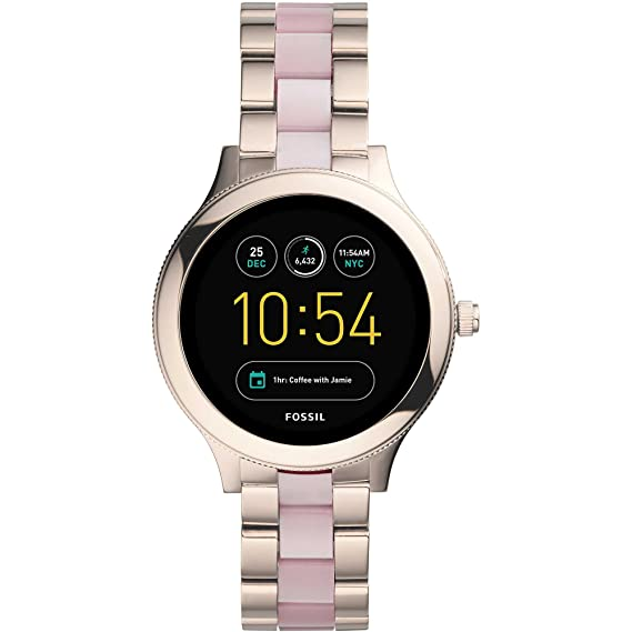 Reloj Smartwatch Mujer Fossil Q Venture Casual Cod. ftw6010: Amazon.es: Relojes