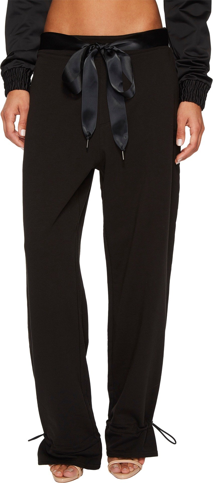 PUMA Women's Fenty Gathered Ankle Sweatpants Cotton Black Large