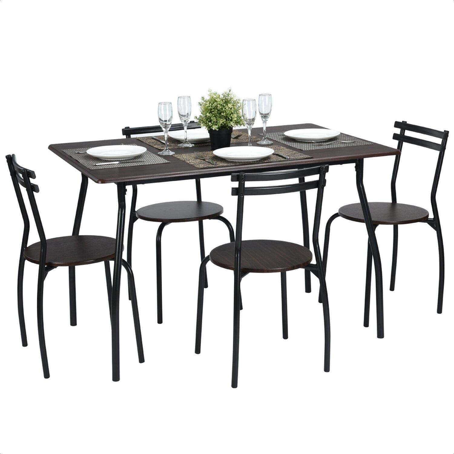 4. Best For Cheap Price: Tarleton 5 Piece Dining Set