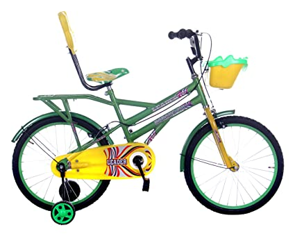 Buy Leader Dabang NV 20T Steel Kids\' Bicycle, 20 Inches (Green ...