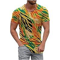 Fossen Print tee Camiseta para Hombre, Camiseta de Hombre de poliéster, Camiseta Hombre, Camiseta de Manga Corta Hombre…