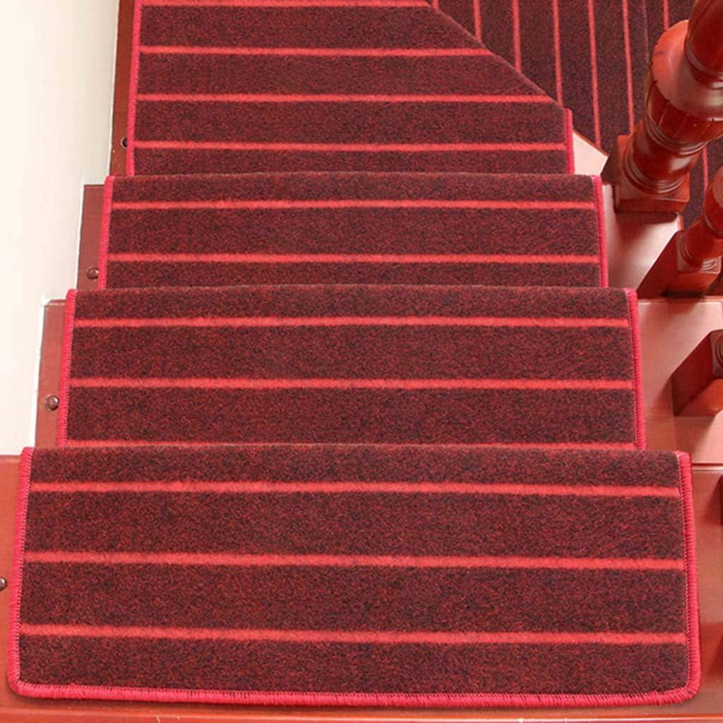 World-ditan Escalera Alfombra-escalón Almohadilla escalonada Hebilla mágica Escalera tapete Antideslizante tapetes para el hogar (Color : B (1pcs), Tamaño : 90 * 24 * 3cm): Amazon.es: Hogar