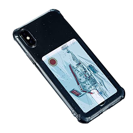 Amazon.com: Funda de silicona TPU transparente para iPhone 6 ...