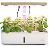 SIMBR Hydroponic Growing System Indoor Herb Garden Kit for 12 Plants, Starter Kit with LED Grow Light, 4L, Fan and Water…