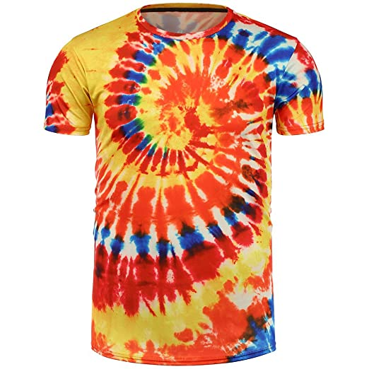Amazon.com: refulgence Handcrafted Tie Dye T Shirts - 11 Youth and Adult Sizes - 15 Color Patterns: Clothing