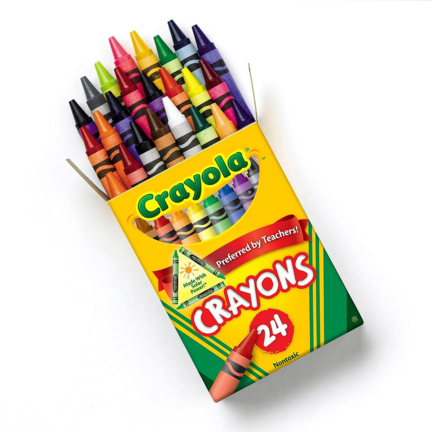 amazon クレヨラ crayola box of crayons nontoxic color coloring