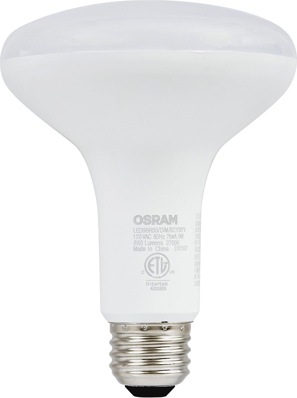 sylvania 65w equivalent led light bulb br30 lamp 2 pack soft white ebay. Black Bedroom Furniture Sets. Home Design Ideas