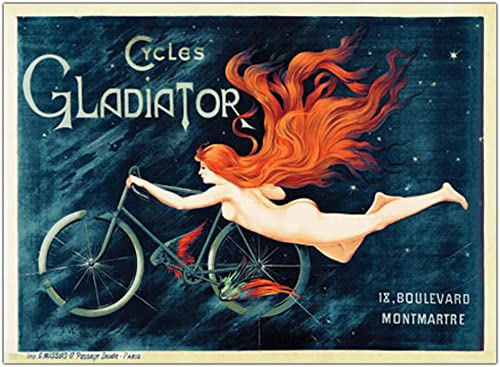 Cycles Gladiator Canvas Wall Art