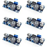 [6-pack] MCIGICM lm2596 step-down module DC to DC Buck Converter 3.0-40V to 1.5-35V Power Supply Step Down Module…
