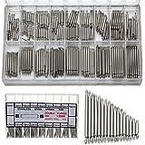 Bodhi2000 360Pcs 8mm - 25mm Watch Spring Bars Metal Strap Link Pins Remover Repair Tool