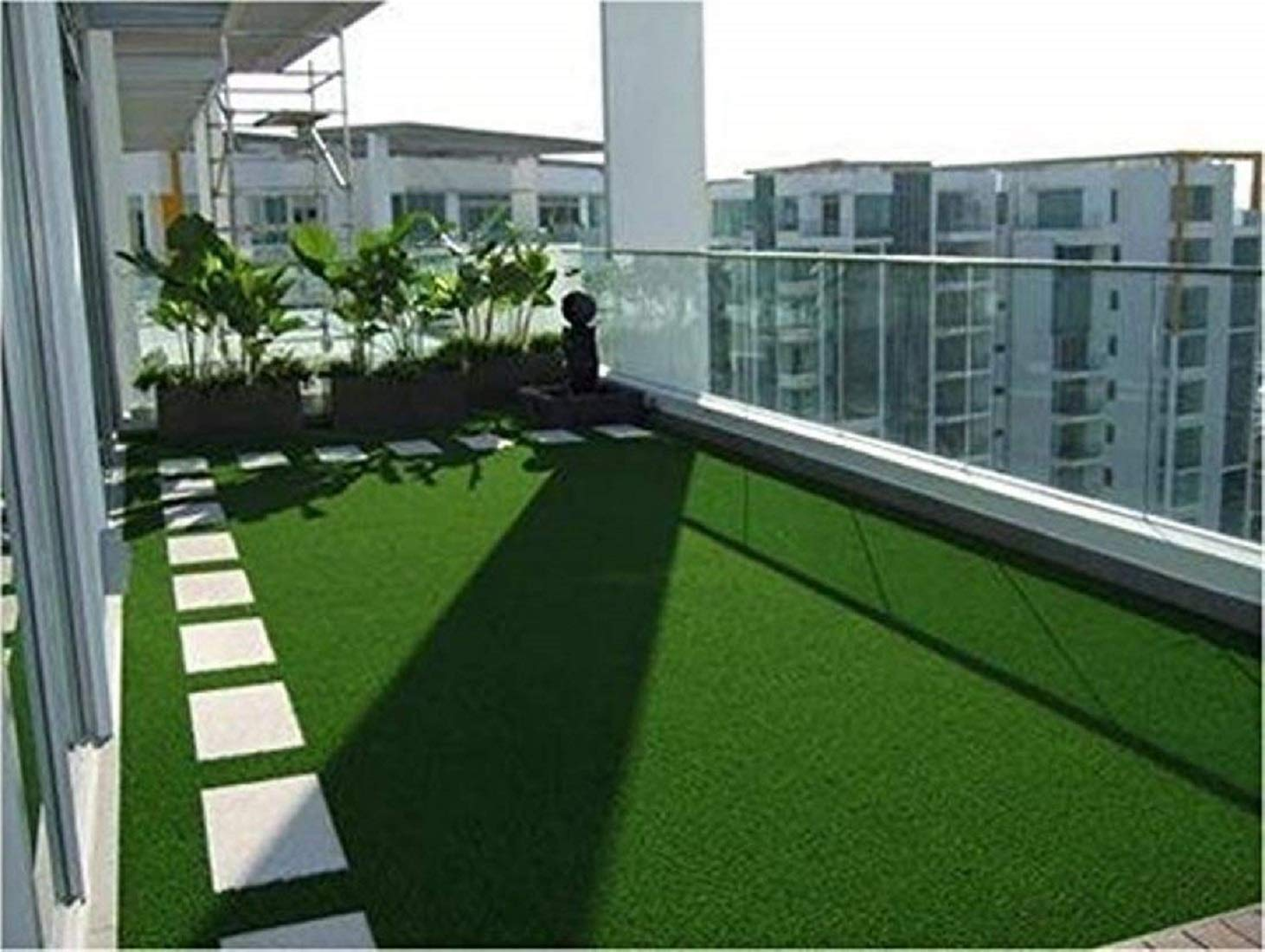 Kuber Industries High Density Artificial Grass Carpet Mat (4