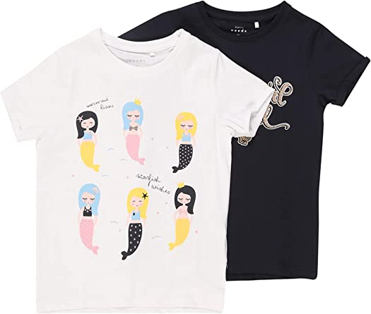 NAME IT M/ädchen T-Shirt