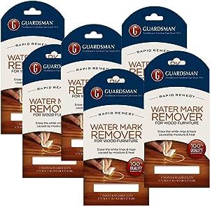 Guardsman Water Mark Remover Cloth, VAR (6)