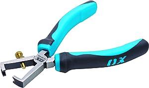 OX Pliers - Pro Wire Stripper Pliers - Adjustable Pliers Set - Heavy Duty Electrical Wire Stripping Pliers - Multicolour – 160mm