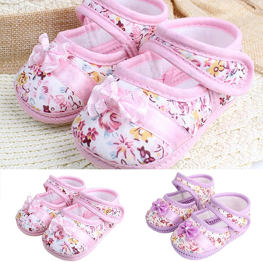 Infant Walkers Shoes Summer Autumn Infant Soft Sole Anti-Slip Breathable Baby Girl Shoes Prewalker First Walkers Crib Shoes
