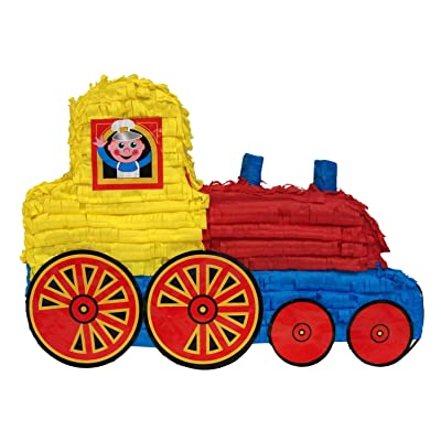 """Pinatas Train, 20"""" Party Game, Decoration Centerpiece and Photo Prop: Toys & Games"""