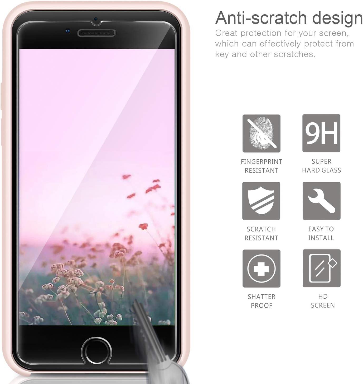 AROYI COVER IPHONE 7 Silicone custodia+ Pellicola Protettiva in