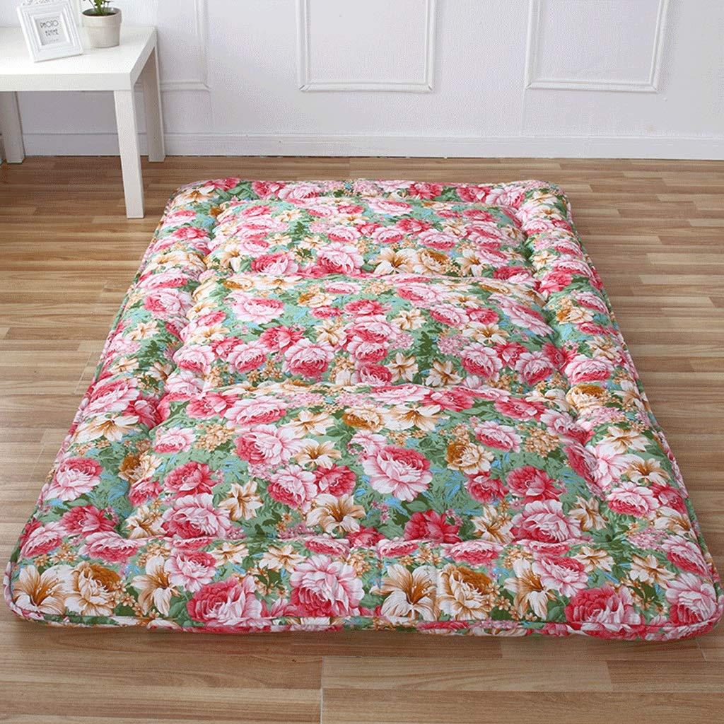 90x200cm Tatami Thick Mattress Home Student Dormitory Foldable Sleeping Pad G (Size   90x200cm)
