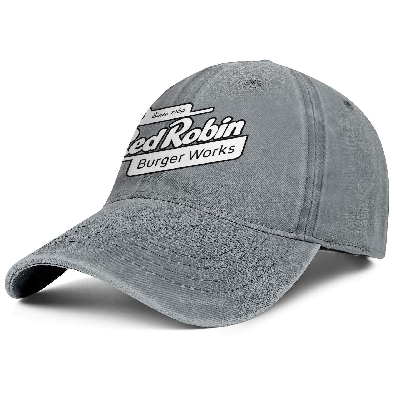 WintyHC Red Robin 1969 Cowboy Hat Trucker Hat Adjustable Fits Gas Cap