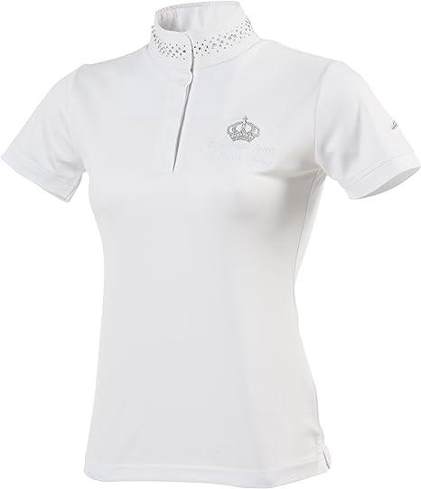 Equi-Theme/Equitm 987012136 Couronne Short Sleeve Camisa de Polo ...