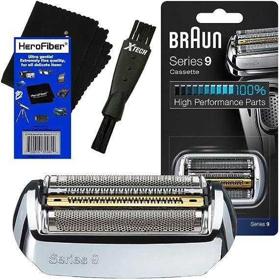 Braun 92S Serie 9 - Cabezal de Recambio para 9075, 9080, 9090 ...