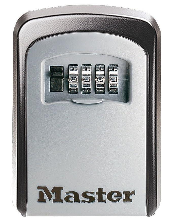 Master Lock 5401EURD Almacenamiento Seguro para Llaves, Negro y Gris, Medio: Amazon.es: Bricolaje y herramientas