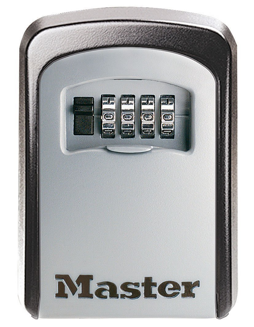 MASTER LOCK Caja de Seguridad para Llaves [Mediana] [Montaje mural] - 5401EURD
