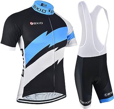 BXIO Ciclismo Jerseys para Hombre, Ropa de Ciclismo Profesional ...