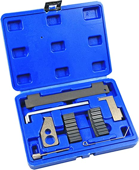 BestsQ Engine Timing and Locking Camshaft Tool Set for Mercedes Benz M102 M112 M113 M155 M156 M272 Chrysler Jeep 2.2 2.7