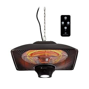 Blumfeldt Heat Square • – Calefactor por Infrarrojos con Mando a Distancia • Estufa de •