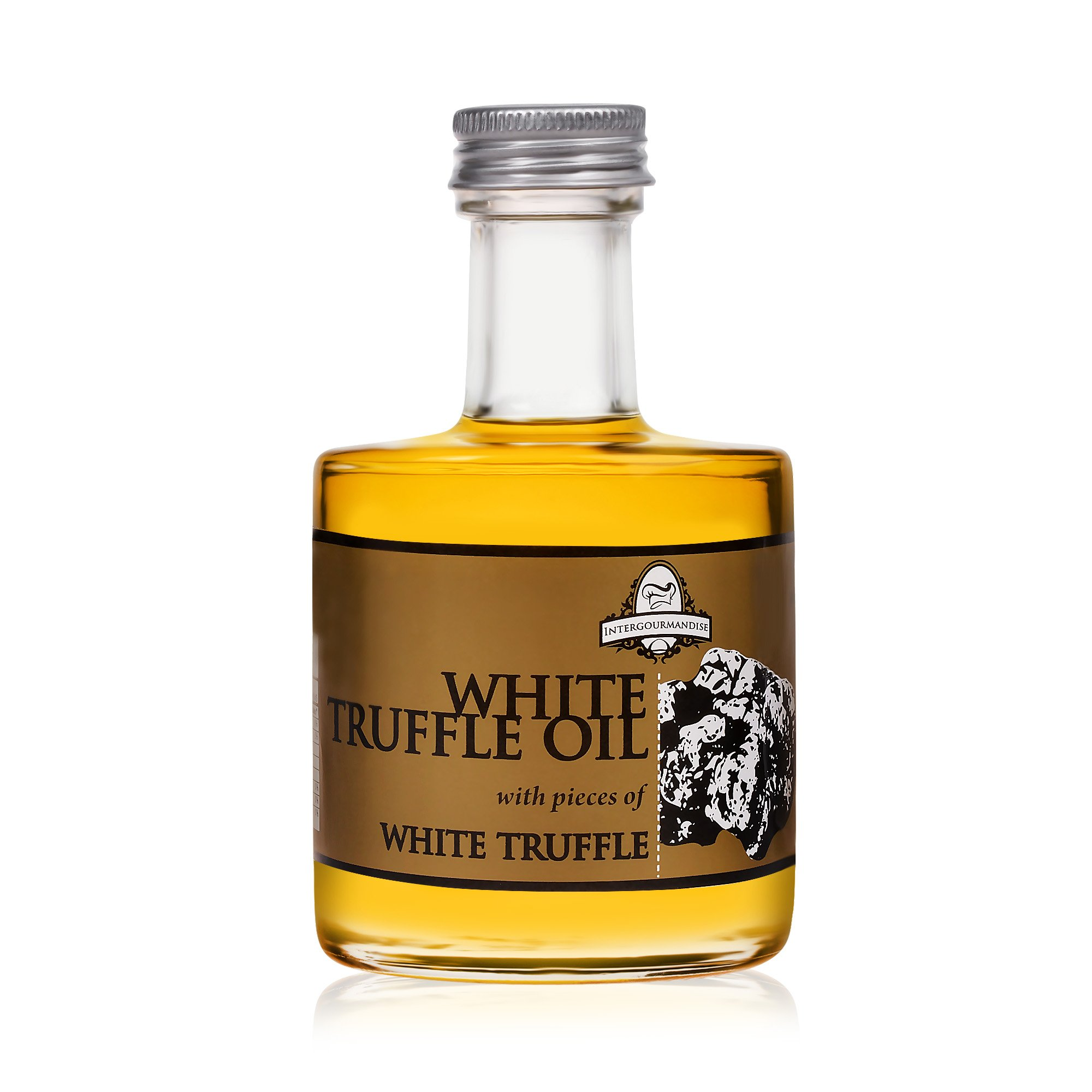 White truffle oil | 3.5 oz. / 100 ml. Glass Bottle | Super Concentrated | InterGourmandise