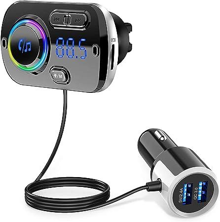LCD FM Transmitter KFZ PKW LKW Auto Radio für MP3 Handy iPhone 3,5mm Player S5Z8