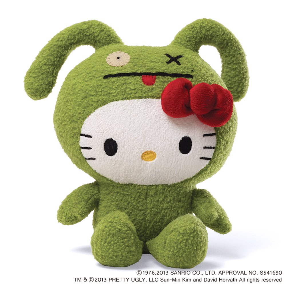 UGLYDOLL x Hello Kitty Plush Green GUND, Inc. (japan import) 4037874