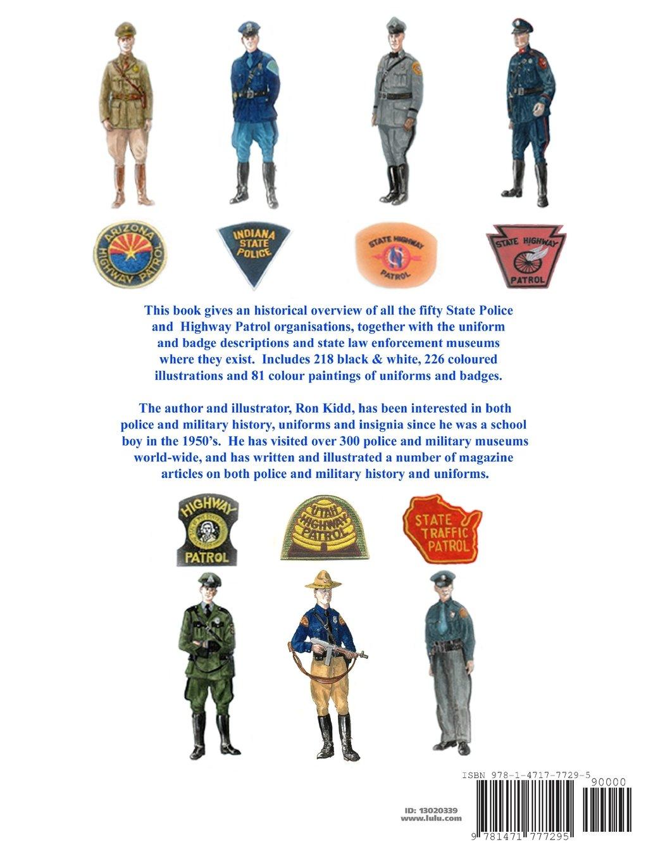 uniforms of the u s state police u0026 highway patrols amazon co uk