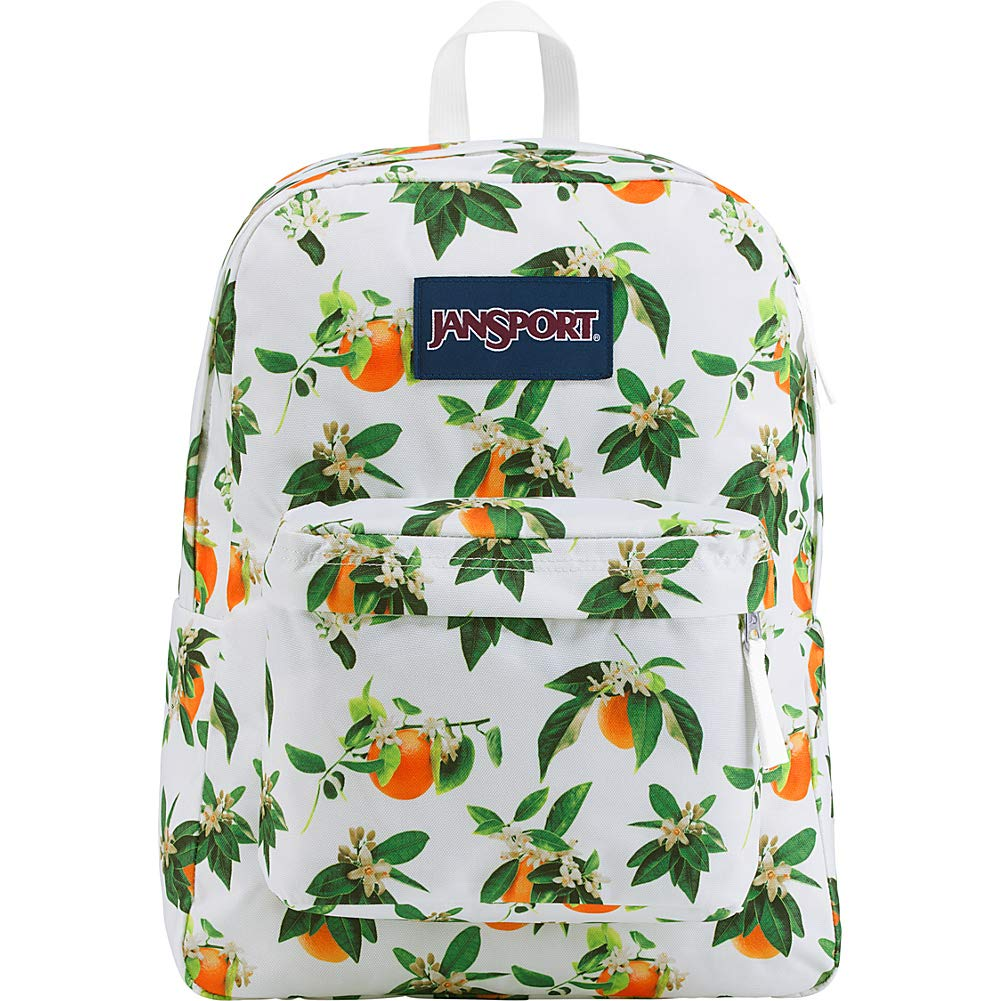 orange Blossom JanSport SuperBreak Classic Ultralight Backpack