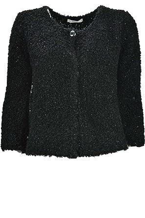 design di qualità 5a0c2 0295f Hekla&Co Elegante Giacca Maglia Donna Cardigan Corto ...