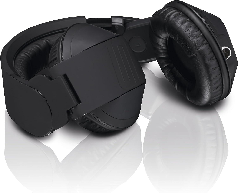*B-WARE* KLASSE RELOOP RHP-5 DJ HIFI AUDIO STEREO KOPFHÖRER TELEFON HEADSET MIT