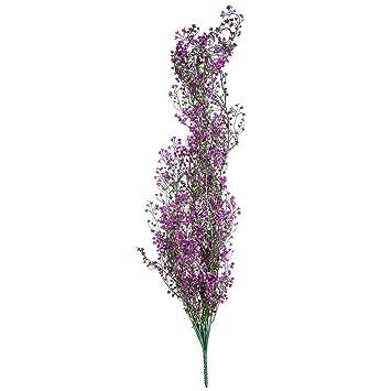 Vorcool Kunstliche Reben Hangenden Efeu Rattan Pflanzen Kunstblume