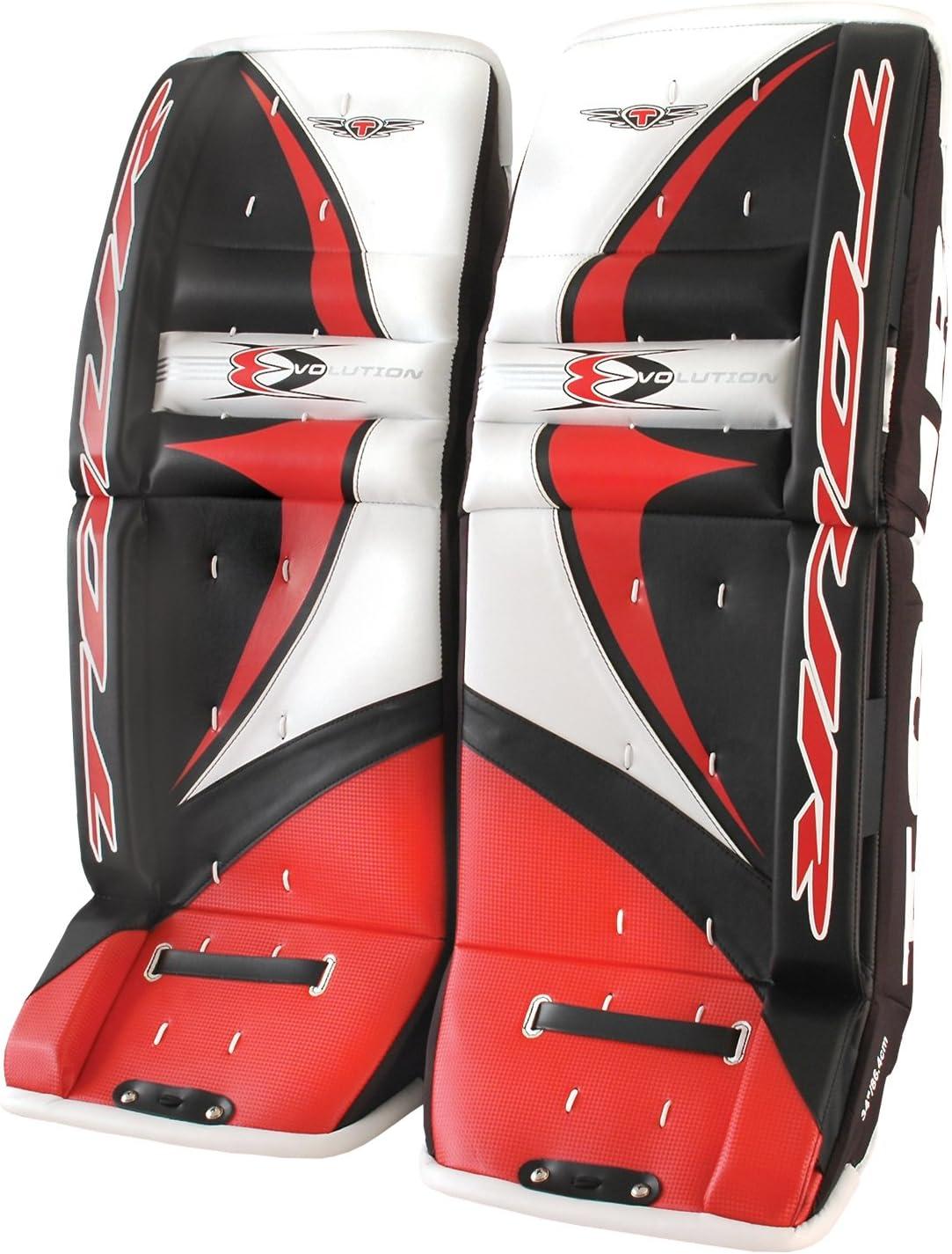 Tour Hockey Youth Evo 6000 Leg Pads (Size 27) : Baseball Leg Guards : Sports & Outdoors