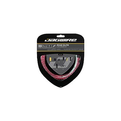 Jagwire Road Elite Link Brake Cable Kit Ultra-Slick SRAM//Shimano Red