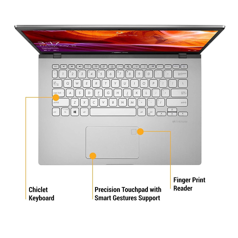 ASUS VivoBook 14 409 keyboard and trackpad
