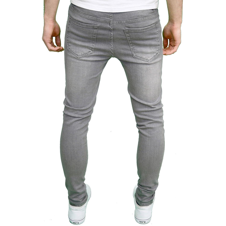 Mens Super 'senjo' Designer Stretch Skinny Jeans Fit 526jeanswear TOuPkXiZ