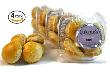 Gwenie's Pastries, Mongo Hopia (4 Pack/5 pieces per pack) Filipino baked  goods, Asian snack, pastry
