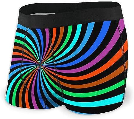 Material: 95% poliéster con 5% spandex que hace que los calzoncillos bóxer sean súper suaves, cómodo