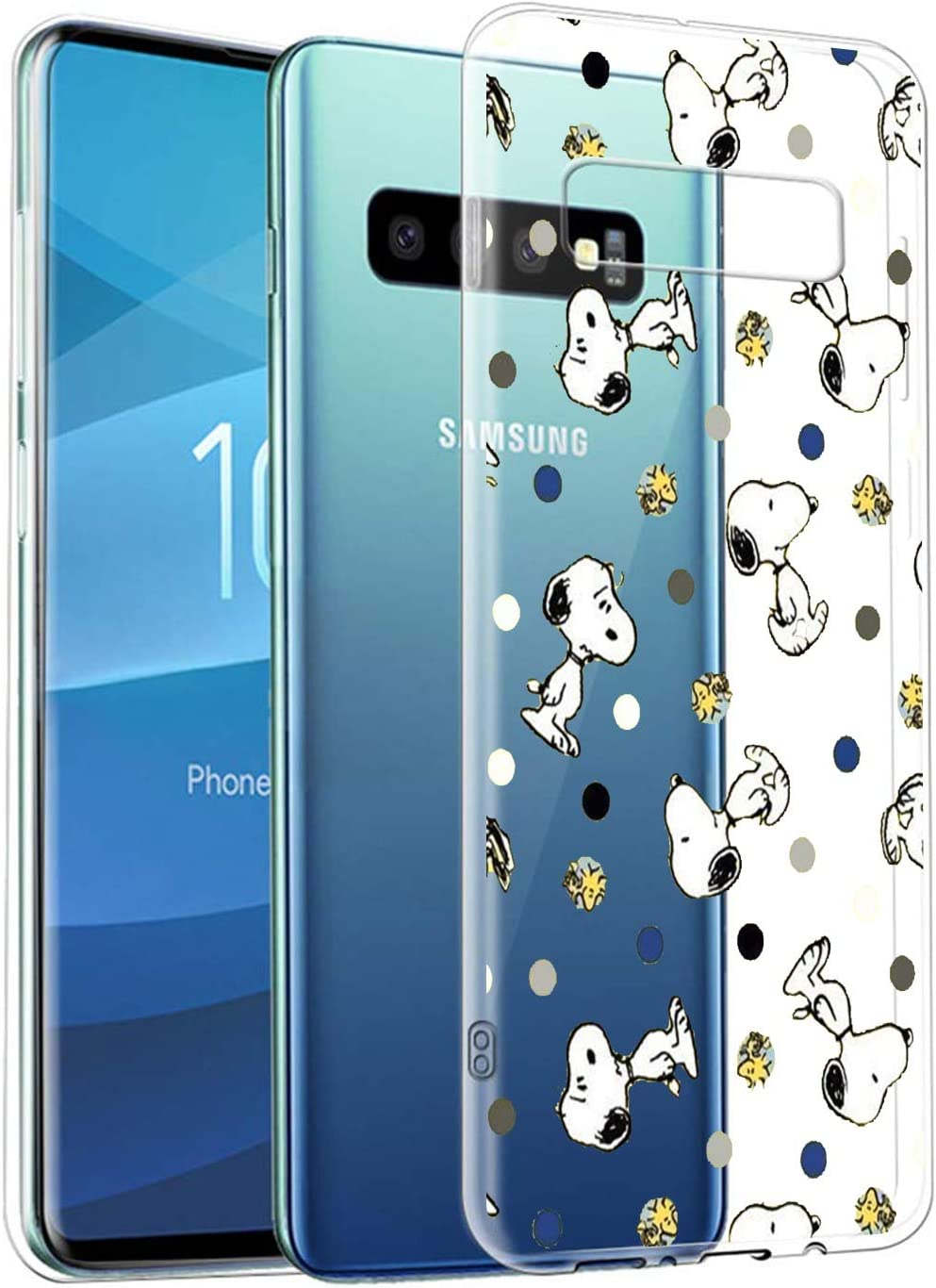 Disney Collection Samsung Galaxy S10 Case Yellow Wallpaper Snoopy Clear Crystal Transparent Uv Printing Back Fit Scratch Resistant Soft Tpu Protective Case Amazon Ca Cell Phones Accessories