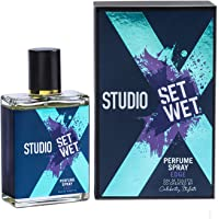 Set Wet Studio X Perfume Spray for Men, Edge, 49ml