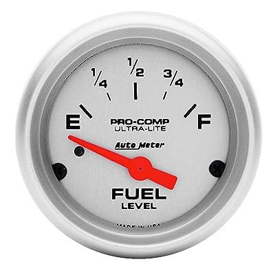 Auto Meter 4314 Ultra-Lite Electric Fuel Level Gauge: Automotive